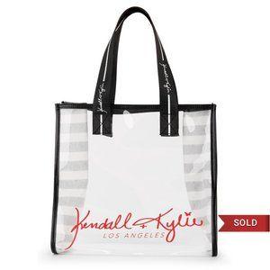 Kendall + Kylie Los Angeles Lucite Tote Bag